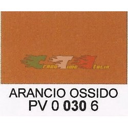 COLORE ARANCIO OSSIDO OPACO POLIURETANICO AD ACQUA 25ML- DR.TOFFANO