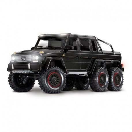 Trx-6 Mercedes-Benz G 63 AMG 6x6 Trail Truck with LED lighting-Black