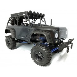 VRX - Crawler JEEP MC28 Off-Road 1/10 Spazzole 2.4ghz 4WD RTR