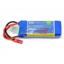 E-FLITE EFLB8003SJ30 - BATTERIA LIPO 11,1V 800mAh 3CELLA 30C
