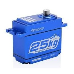 POWER HD - SERVO IN ALLUMINIO BLUE HD LW-25MG WATERPROOF