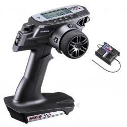 SANWA - RADIOCOMANDO MX-6+ RICEVENTE RX391 WATERPROOF