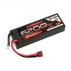 Robitronic Batteria LiPo 6200mAh 2S 7,4V 40C T-Pluc