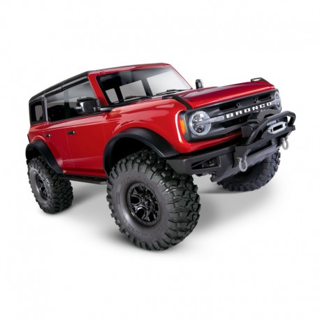 TRAXXAS 92076-4 TRX-4 NEW FORD BRONCO 2021 SCALE & TRAIL CRAWLER - RED
