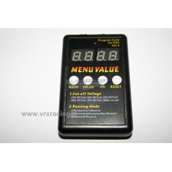 Program Card Rocket per Regolatori (ESC) modelli Elettrici Brushless VRX