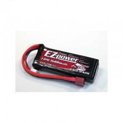 EZ POWER EZP1600/2 - BATTERIE LIPO 1600mah 2S 30C SPINA TPLUG