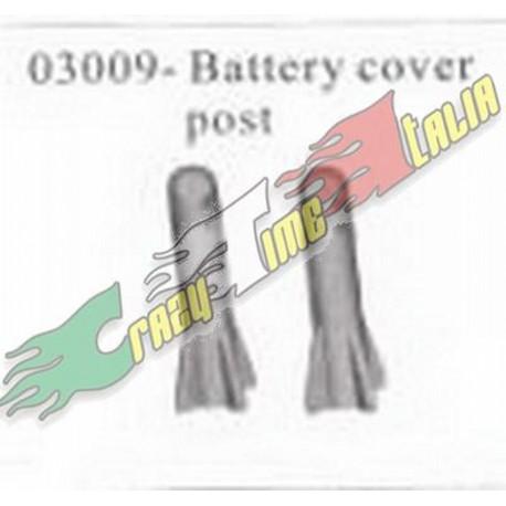 HSP SUPPORTI COVER BATTERIA OFF-ROAD 1/10 ELETTRICO (2PZ)