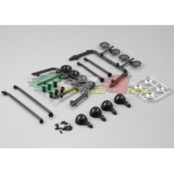 KILLERBODY 48237- KIT PARABOLE LUCI PER TETTO CRAWLER 1/10