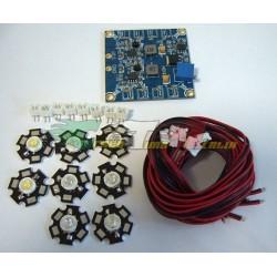 Kit luci composto da 6 LED per esacottero