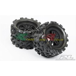 "PROLINE 1103-13 - GOMME BIG JOE 3,8"" CON CERCHI TECH 5 PER TRAXXAS"