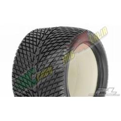 """PROLINE 1104 - COPPIA GOMME MAXX ROAD RAGE II 3,8"""" (40 SERIE) STRADALI PER TRAXXAS"""