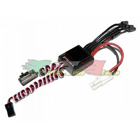 Regolatore di velocità, ESC brushless 20A waterproof per modelli 1/18 1/16