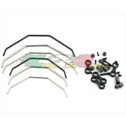 Ricambi Losi LOSA1750 - Sway Bar Set: 8B,8T