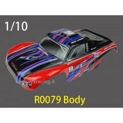 RICAMBI VRX R0078 - CARROZZERIA VERNICIATA PER AUTO 1/10 SHORT COURSE