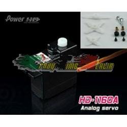 Servocomando mini HD-1160A - 2,7Kg(4,8V) - 3,0Kg(6V)