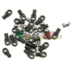 TRAXXAS 1942 - ROD ENDS (16LUNGHI/4CORTI) HOLLOW BALL CONNECTORS (18) BALL SCREWS(2)