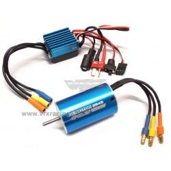 Combo Classic 2845/3.5Y 3100KV + ESC 35A brushless Sensorless 1/12 1/14 1/16