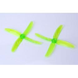 SET ELICHE QUADRIPALA PER DRONI DA CORSA 5X4X4 (2CV+2CCV)