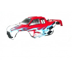 Carrozzeria completa di adesivi x 1:10 Off road Monster Truck