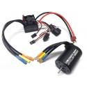 Combo Rocket 3650 5200KV + Esc 60A Waterproof