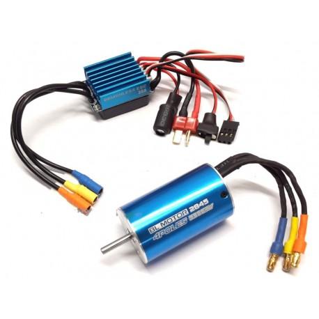 Combo Classic 2845/2Y 5900KV + ESC 35A brushless Sensorless 1/12 1/14 1/16