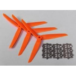 Gemfan - 3 Elica Tripala 5x3 50x30 Arancio