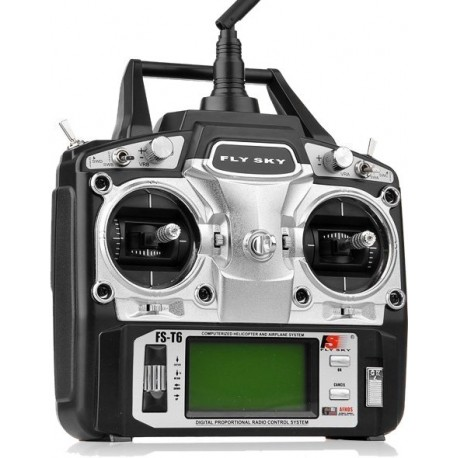 FLY SKY - RADIOCOMANDO 6CH 2,4Ghz