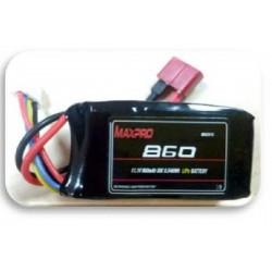 MAXPRO - BATTERIA LIPO 860MAH 11,1V 30C