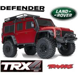 TRAXXAS 82056-4 - TRX4 DEFENDER ROSSO