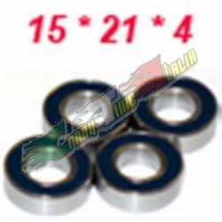 CUSCINETTO 15X21X4 DOPPIO SCHERMO IN PLASTICA (1)