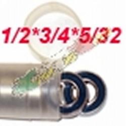 CUSCINETTO 1/2 X 3/4 X 5/32 LOSI DOPPIO SCHERMO IN PLASTICA (1)