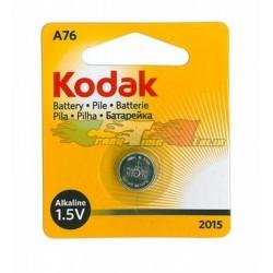 pila a bottone Kodak KA76 1x 1,5v alkaline (LR44)