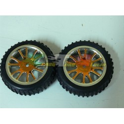 GOMME COMPLETE 1/16 BUGGY ANTERIORI