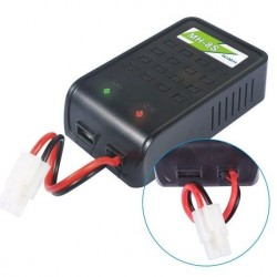 Caricabatterie MH-8S NiMh 1-8 cell 800 mA 12 W 220 V