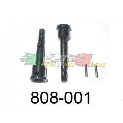 HIMOTO 800-001- COPPIA MOZZI E PIN AUTO 1/8