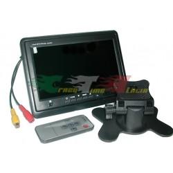 MONITOR LCD 7'' TFT CON TELECOMANDO TM760