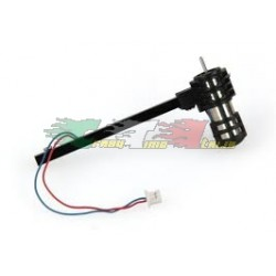 RICAMBIO ARES AZSH1209 - TUBO E MOTORE ROTAZIONE ORARIA PER DRONE ETHOS QX 75