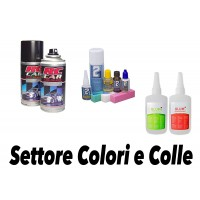 COLORS AND GLUES